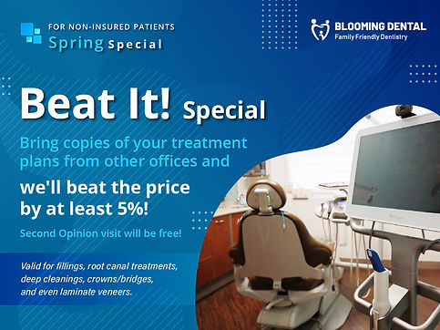 Blooming Dental_Beat it special_Apr2021.