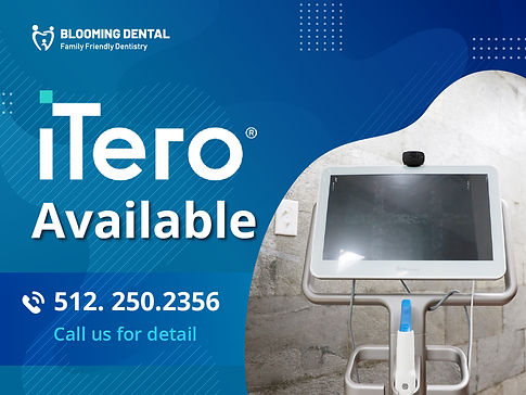Blooming Dental_iTero Available_Mar2021.