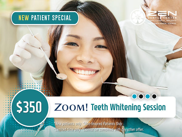 Zen Dental Center_New patient promotions