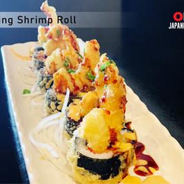 OKI Japanese Grill_Flying Shrimp Roll