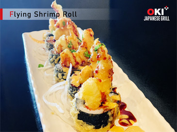 OKI Japanese Grill_Flying Shrimp Roll.jp