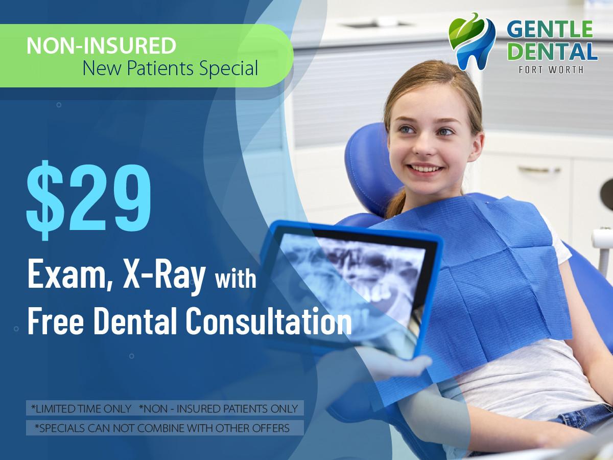 Gentle Dental_$29 Comprehensive Exam, Fu