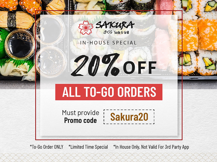 Sakura Sushi_in house special 20% off_Se