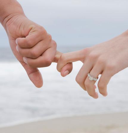 Verlobtes Paar