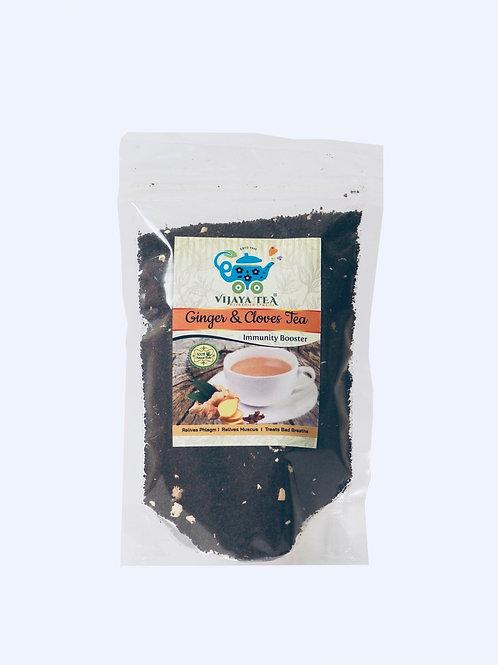 Vijaya's Ginger & Cloves Tea