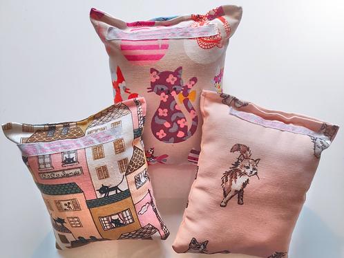 Honeysuckle Cat Toys | Honeysuckle Cat Cuddle Cushion