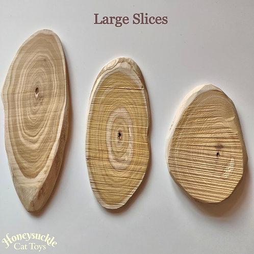 Honeysuckle Wood Large Slice