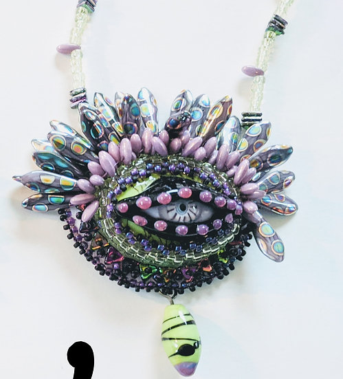 Beauty in the Eye of the Beholder Necklace