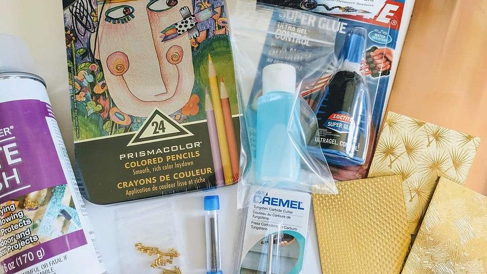 Colored Pencil Starter Kit