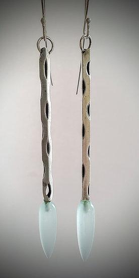 Cactus Skeleton Earrings