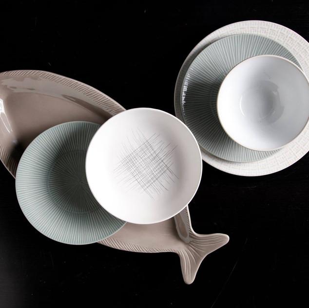 Scandanavian Plate Set