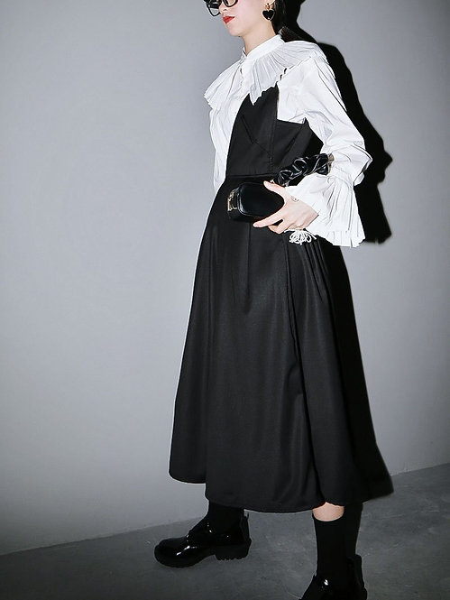 Mirai Pleated One Shoulder Dress