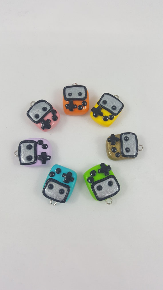 Handheld Game Charms