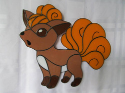 Vulpix Stained Glass