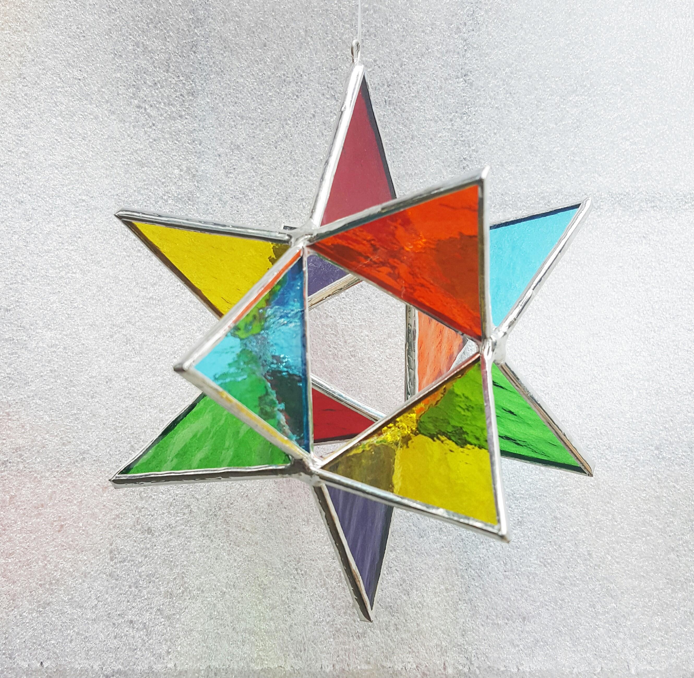 3D Star Rainbow