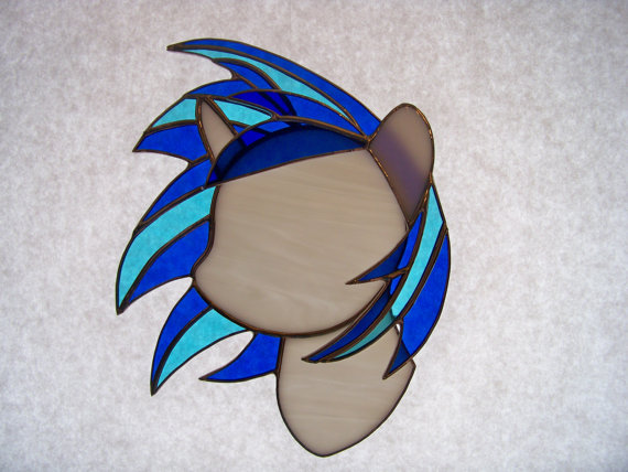 Pony Stained Glass Suncatcher