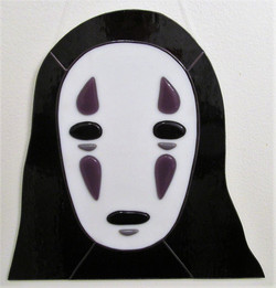 Stained Glass No Face