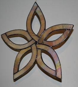 Stained Glass Celtic Star