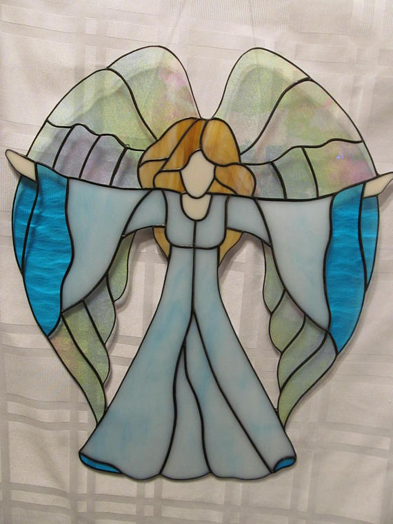 Welcome Angel Stained Glass