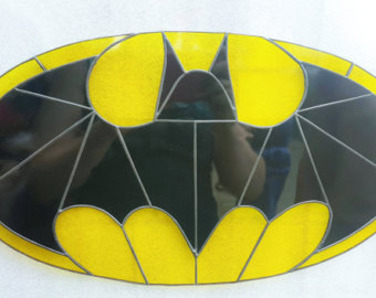 Batman Bat SIgnal Fan-Made Stained G