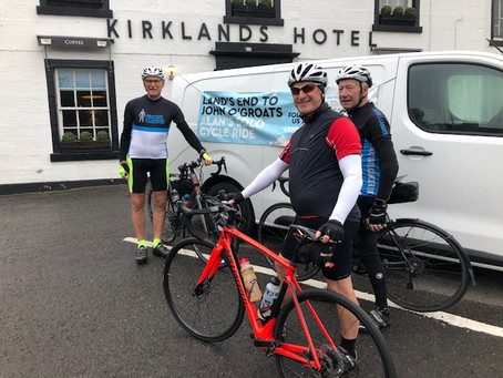 To Pitlochry via the Fair Maid.... LEJoG Day 13