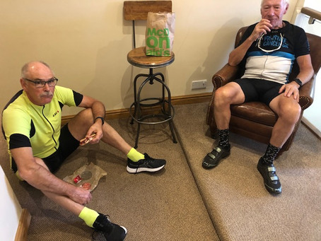 Through Warrington (well nearly) and Wigan: LEJoG Day 7