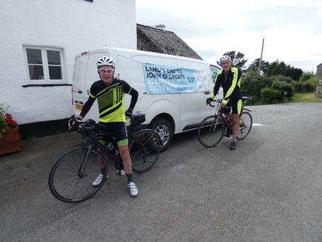 Another day done: LEJoG 2