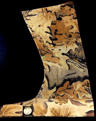 Brown Leaf Wrap Industrial Mesh