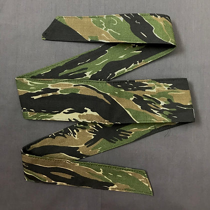 Green Tigerstripe Headband