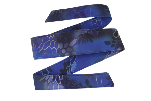 Blue G-Hex Headband