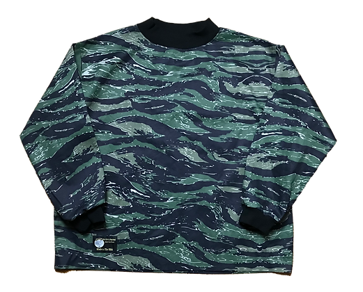Green Tigerstripe Jersey