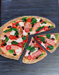 pizza rachel rusted