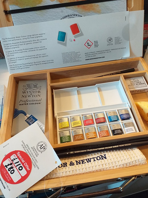 Winsor and Newton Artist watercolour Set