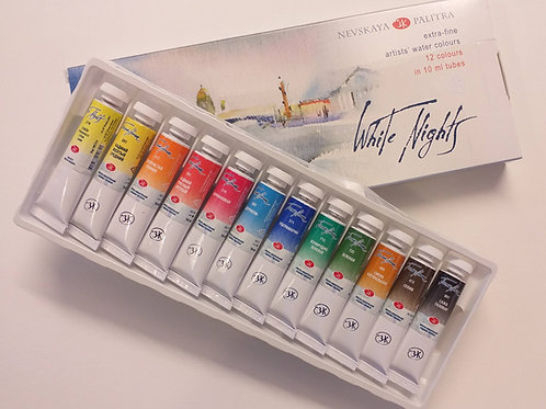 White Nights 12 tube set