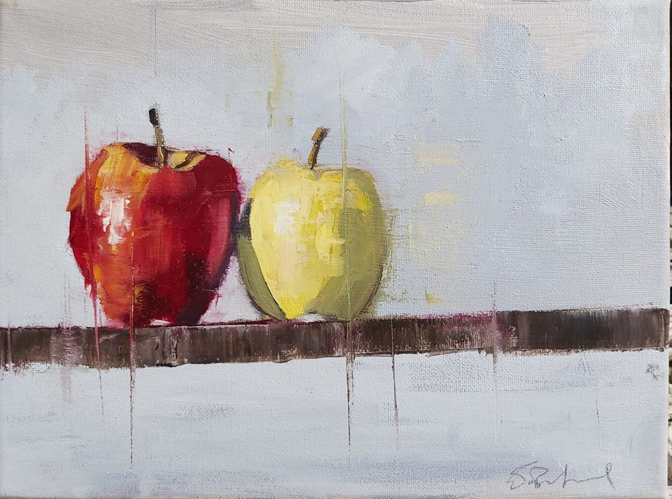 isolation apples III scott bridgwood