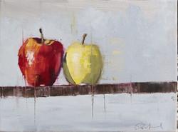 isolation apples III scott bridgwood