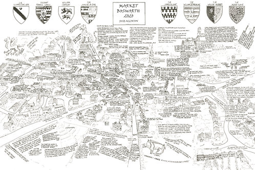 Market Bosworth Open Edition Map