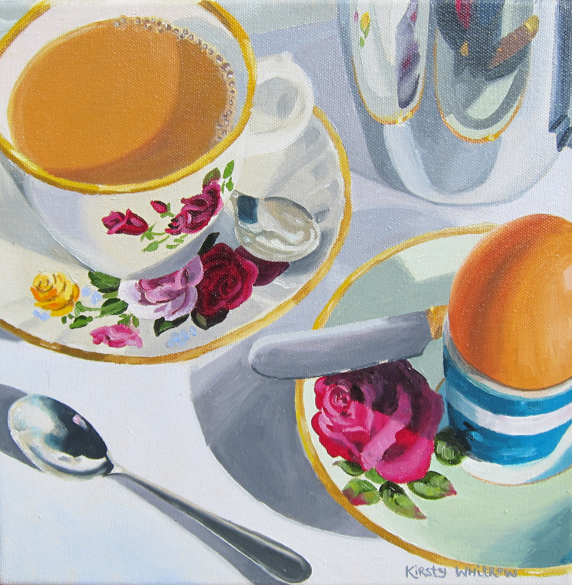 Breakfast time kirsty whitrow