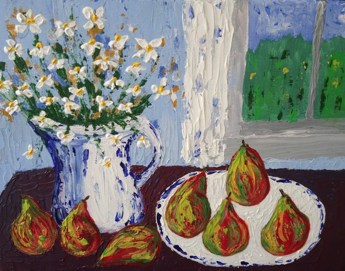 gathering of pears sara wykes