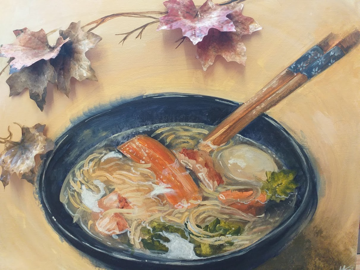 ramen in the autumn breeze maja jani