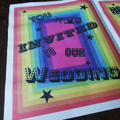 Gay Wedding Stationery