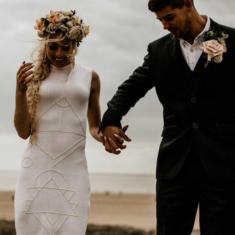 Ogmore Beach Wedding Photos
