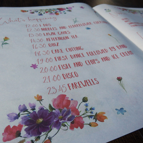 Alternative Wedding Stationery