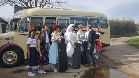 VIDEO | 1950S ROCK 'N' ROLL WEDDING SHOOT, CAVOKAY HOUSE, SOMERSET | MAR 19