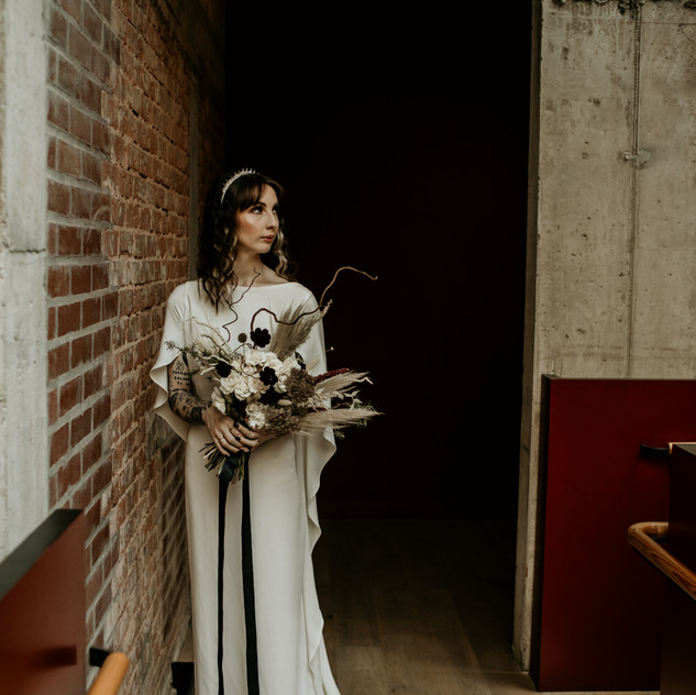 Frankenstein's Bride themed shoot