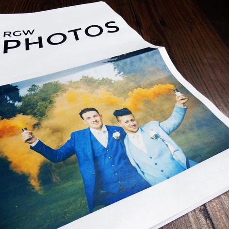 RGW Photography Marketing Newspaper
