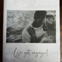 Engagement Announcement