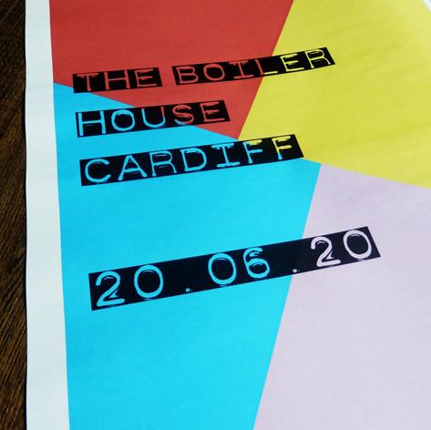 Colour block Wedding or Civil Partnership Save the Date Newspaper | Alternative Wedding Stationery Newspapers