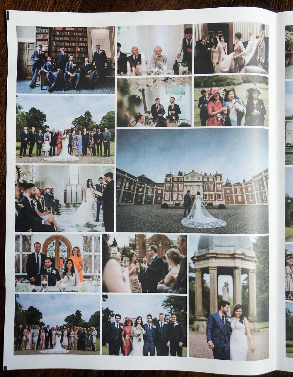 Wedding Thank You Photo Newspaper