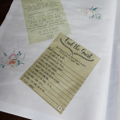 Destination Wedding + Civil Partnership Order of Service   Alternative Wedding Stationery Newspapers